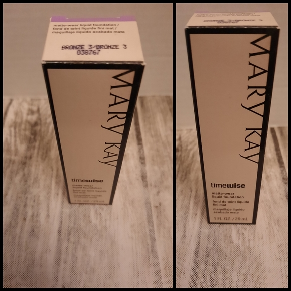 Mary Kay Matte Wear Foundation Bronze 3